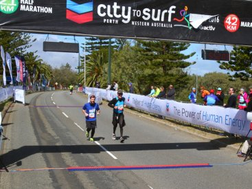 City to Surf, 2016 – Crossing The Line