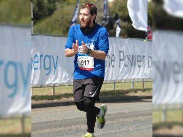 City to Surf, 2016 – Enjoying the Finish